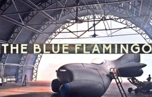 The Blue Flamingo Badge