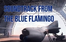 The Blue Flamingo Soundtrack Badge