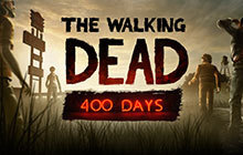 The Walking Dead: 400 Days Badge