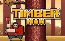 Timberman Badge