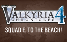 Valkyria Chronicles 4: SQUAD E, TO THE BEACH! Badge