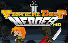 Vertical Drop Heroes HD Badge
