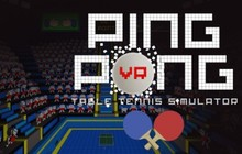 VR Ping Pong Badge