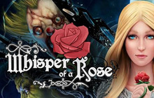 Whisper of a Rose Badge