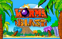 Worms Blast Badge