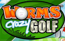 Worms Crazy Golf Badge