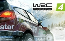 WRC 4 FIA World Rally Championship Badge