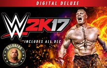WWE 2K17 Digital Deluxe Edition Badge