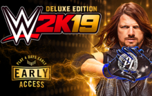 WWE 2K19 Digital Deluxe Edition Badge