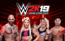 WWE 2K19 Rising Stars Pack Badge