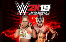 WWE 2K19 Ronda & Rey Pack Badge