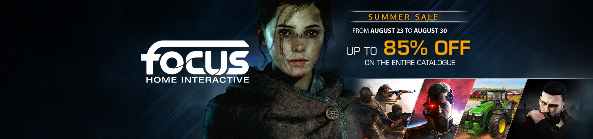 Focus Home Interactive Sale
