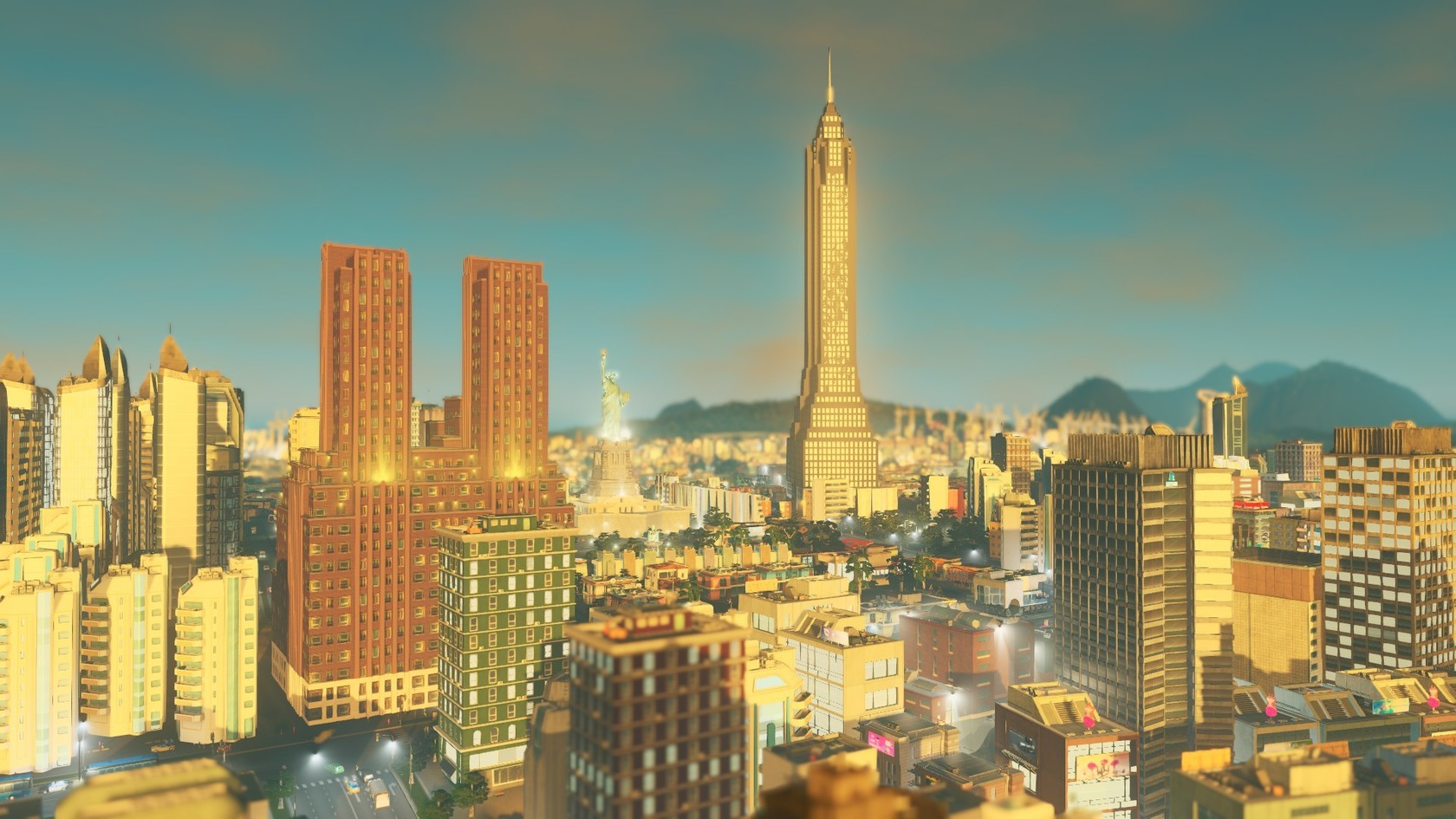 Cities skylines content creator pack art deco for Us city skylines photos
