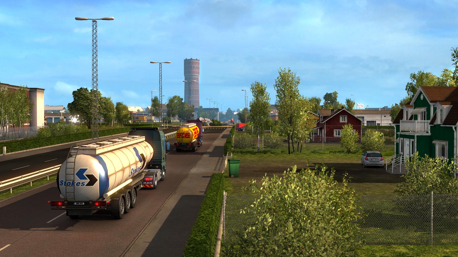Euro Truck Simulator Scandinavia on Euro Truck Product Key