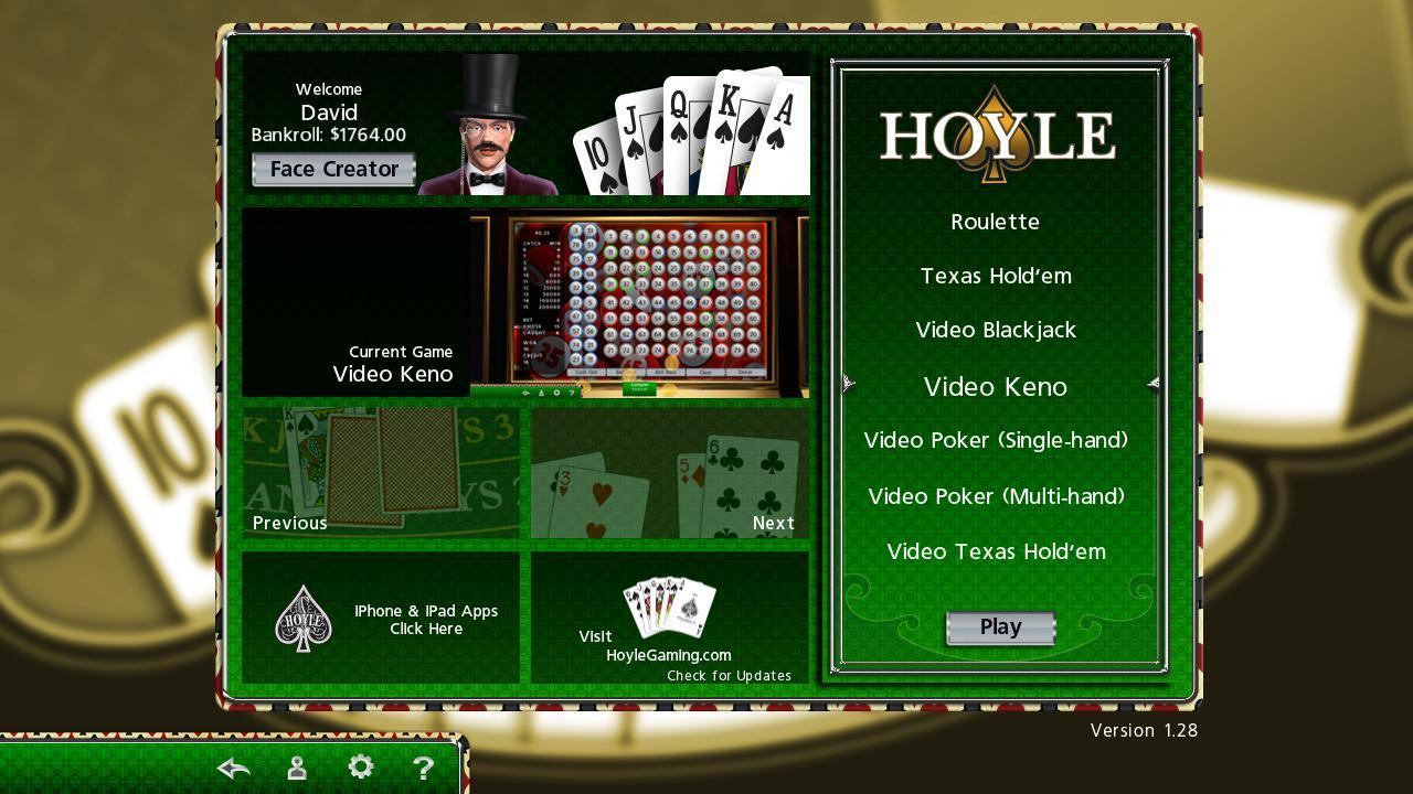 Hoyle casino face screen it casino royale