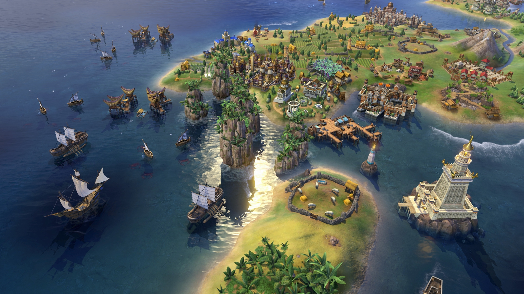 Sid Meier's Civilization® VI - Khmer and Indonesia