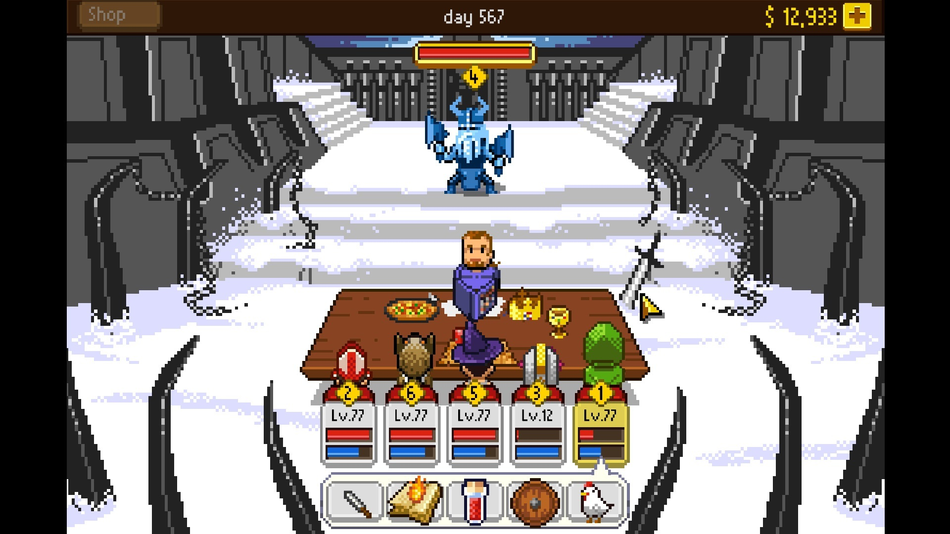 knights of pen and paper 2 new game plus
