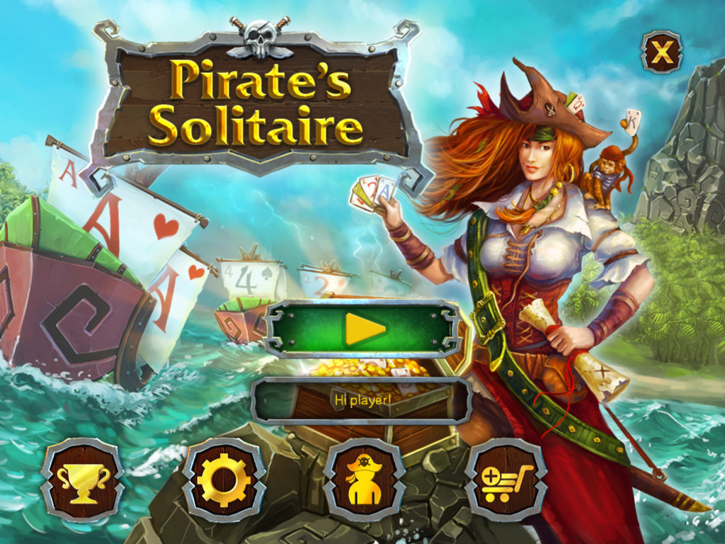 Pirate S Solitaire Wingamestore Com