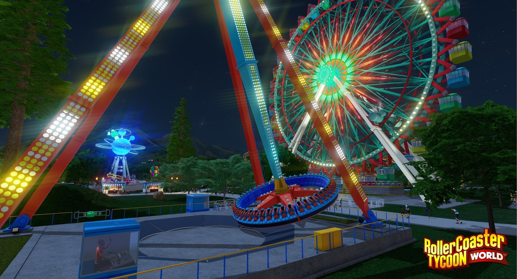 RollerCoaster Tycoon World - Deluxe Edition | wingamestore com