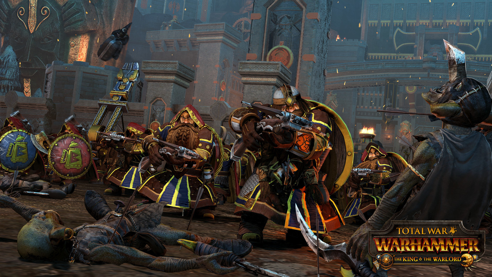 Total War: WARHAMMER - The King and the Warlord   wingamestore com