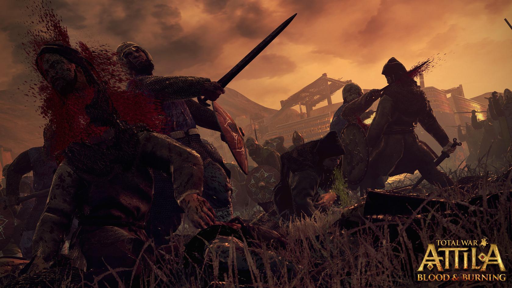 Attila Total War Wallpaper: Total War™: ATTILA - Blood And Burning Pack