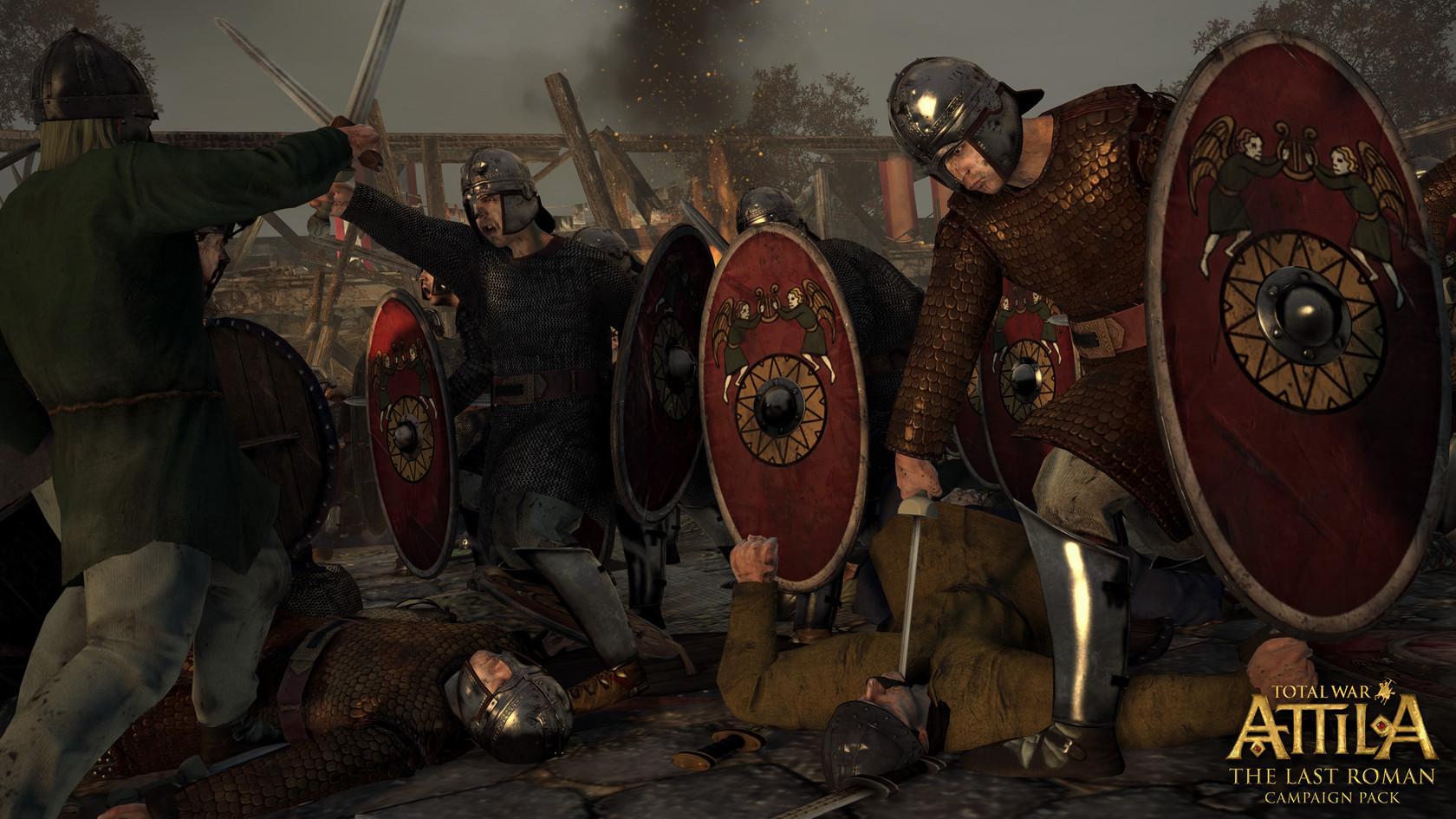 Total War™: ATTILA - The Last Roman Campaign Pack | wingamestore com