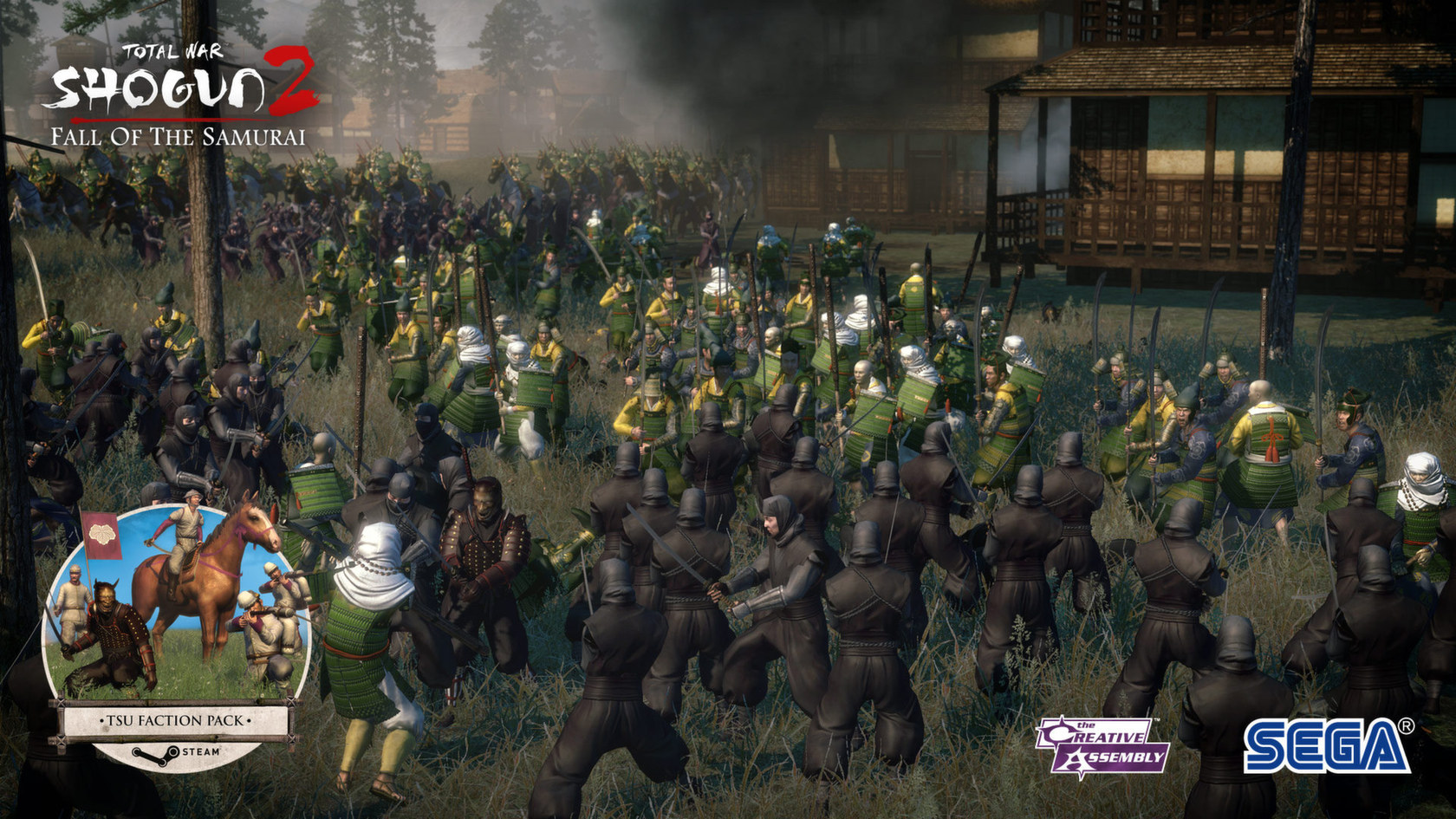 Total War™: SHOGUN 2 - Fall of the Samurai | wingamestore com