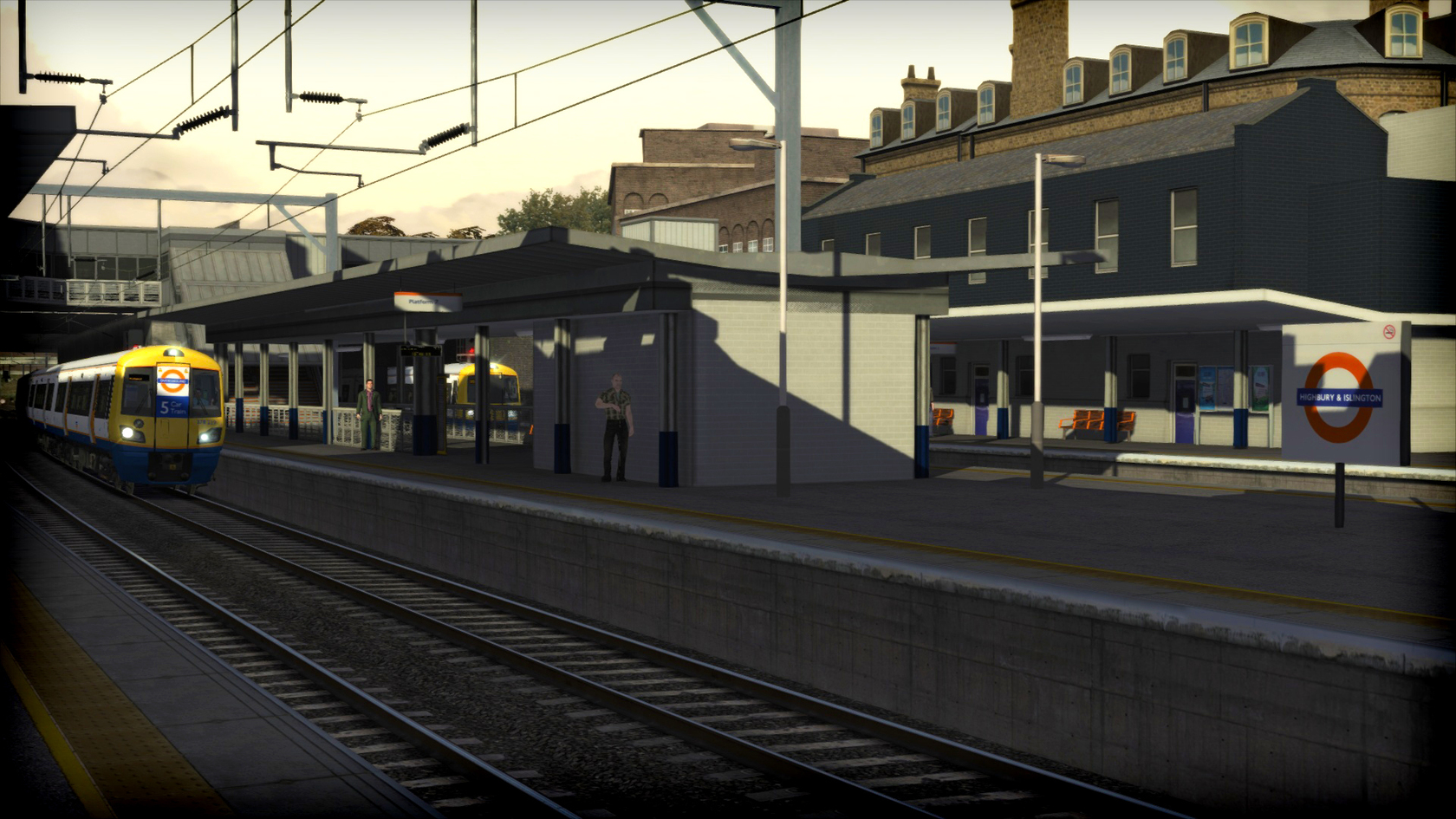 Train Simulator route