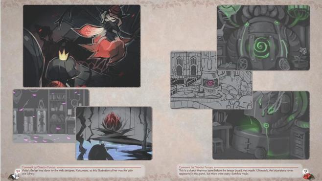 A Rose in the Twilight - Digital Art Book Screenshot 1