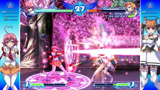 Arcana Heart 3 LOVE MAX!!!!! Screenshot 8