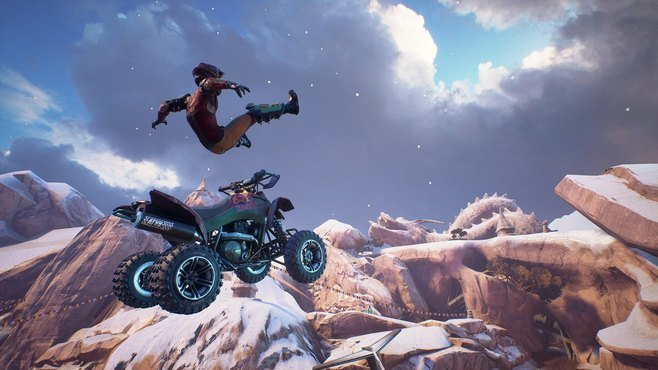 ATV Drifts & Tricks Screenshot 2