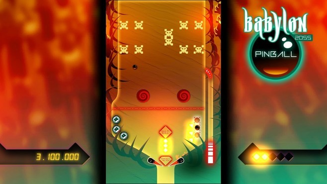 Babylon 2055 Pinball Screenshot 2