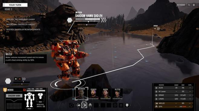 BATTLETECH Shadow Hawk Pack Screenshot 2