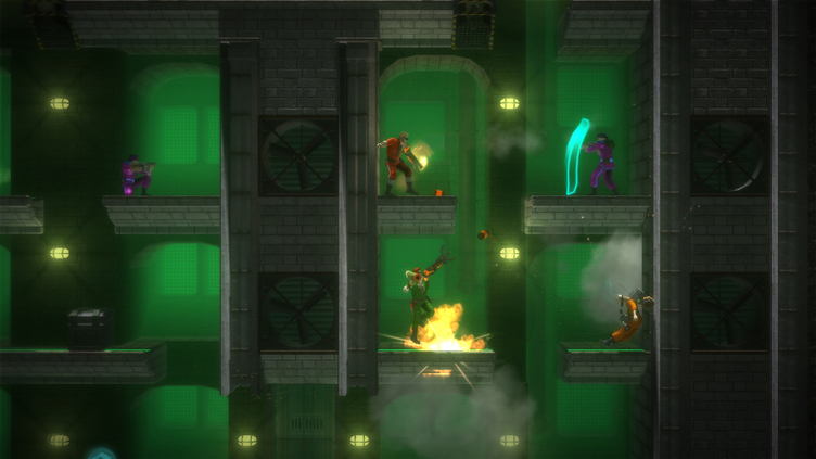 Bionic Commando: Rearmed Screenshot 1