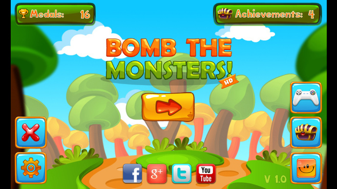 Bomb The Monsters Screenshot 1