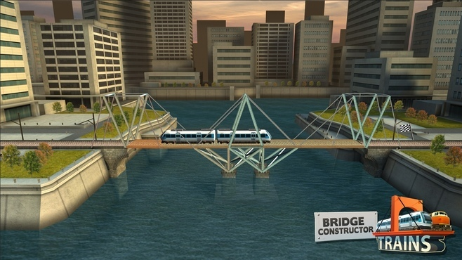 Bridge Constructor: Trains Expansion Pack Screenshot 1