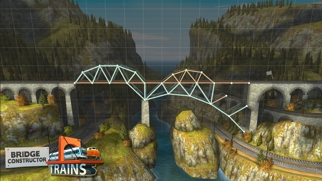 Bridge Constructor: Trains Expansion Pack Screenshot 2