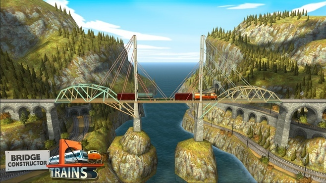 Bridge Constructor: Trains Expansion Pack Screenshot 3