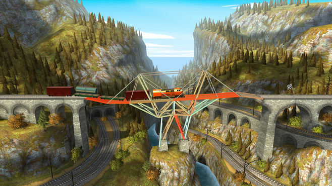 Bridge Constructor: Trains Expansion Pack Screenshot 4