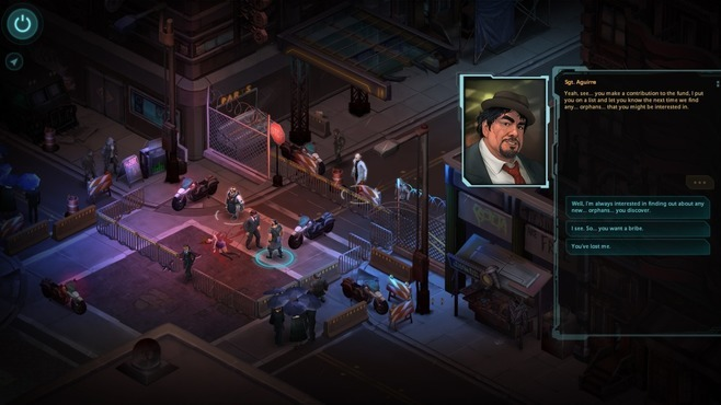 Shadowrun Returns Deluxe Screenshot 1
