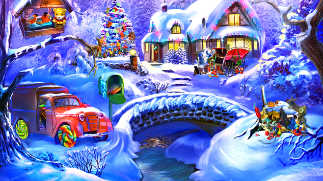 Christmas Adventure: Candy Storm Screenshot 10