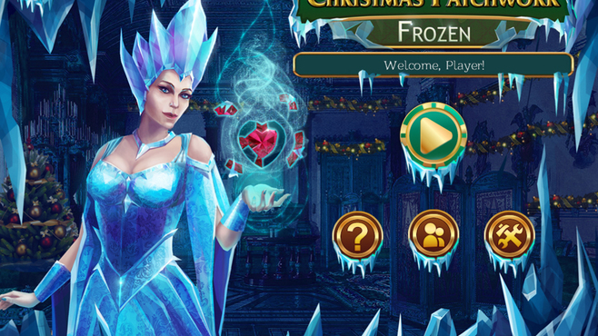 Christmas Patchwork Frozen Screenshot 8