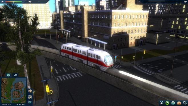 Cities In Motion 2: Marvellous Monorails Screenshot 6