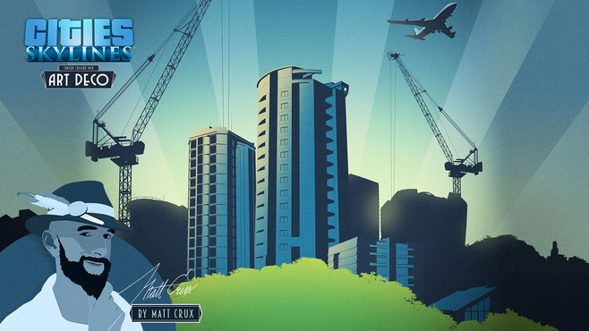 Cities: Skylines - Content Creator Pack: Art Deco Screenshot 9
