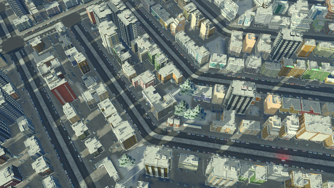 Cities: Skylines Snowfall Screenshot 2