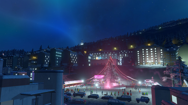 Cities: Skylines Snowfall Screenshot 3