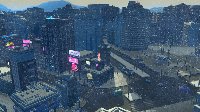 Cities: Skylines Snowfall Screenshot 4