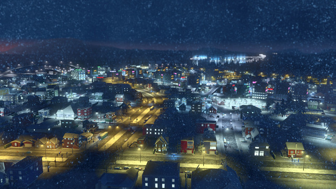 Cities: Skylines Snowfall Screenshot 7