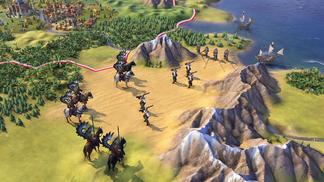 Civilization VI - Poland Civilization & Scenario Pack Screenshot 5