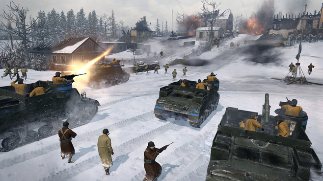 Company of Heroes 2 - The Western Front Armies - US Forces Screenshot 1
